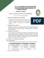 Plan de Clases TPA 2019 Abril