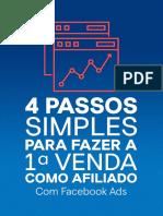 4 passos simples para fazer a 1a venda como afiliado