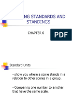 Meeting Standards and Standings