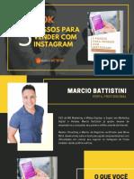 5 Passos Para Vender Pelo Instagram