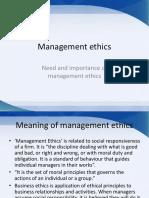 Business Management Ethics 1