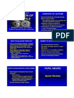 Evaluation of pupil