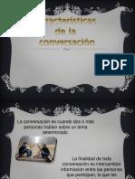 Clase Eq 3 - Carac. de Conversaciones