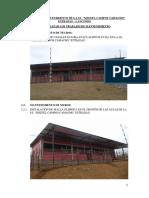 Trabajos de Mantenimiento de La IE MIGUEL CAMPOS CAMACHO