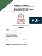 Generalidades Del Proceso Abreviado..