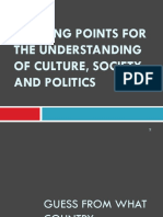 OK Lesson 1- Starting Points for the Understanding of Culture, Society and Politics (2)