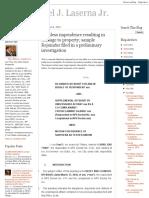 PDF r._ Reckless Imprudence Resulting in Damage to Property; Sample Rejoinder Filed in a Preliminary Investigation