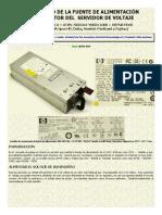 Fuente Del Servidor DPS-800GB a Eng