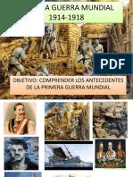 Antecedentes Primera Guerra Mundial 1 Medio