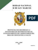 1. Protocolo de Seguridad Laboratorios de Ciencias Del Salud 3.0