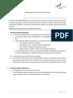 5.- Instrucciones Fundacion Wiese 2018