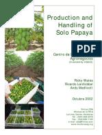 4-CDA Fintrac Manual Produccion Papaya 10 02 ENG