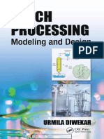 Batch Processing Modeling and Design, 1st Edition