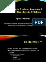 anemia leukemia anak