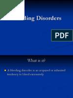 Bleeding Disorders 082508