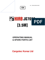 JG7000(3 5m) Operating Manual Spare Parts List ENG (201506) (3)