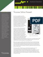 Datasheet Triconex TofinoFirewall 04-10 Rev 2