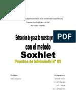 Informe Practica 2 Quimica Organica