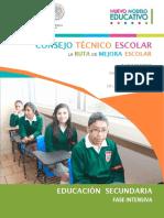 Ruta de Mejora Escolar 17 18