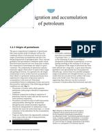 Origin, Migration and Accumulation of Petroleum