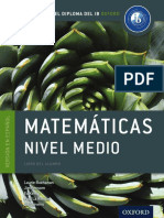 Matemáticas Nivel Medio