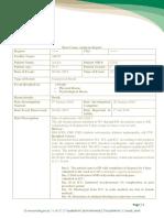 RCA Report Sample