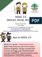 Krida 3 Rreduce Reuse Recycle
