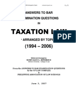 Bar Questions and Answers Taxation Law 1-Converted