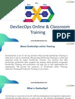 DevSecOps online Training & Certification by Experienced Trainer | DevOpsSchool