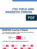 Magnetic Force and Torque