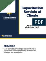 Capacitación servicio al cliente