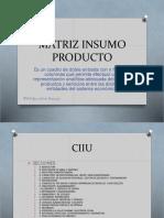 Matriz Insumo Producto