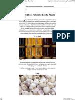 Antibióticos Naturales Que Tu Abuela Te Daría _ Salud - Todo-Mail
