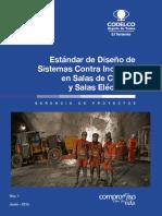 Estándar N°15 - Diseño de Sistemas Contra Incendio en Salas de Control y Salas Eléctricas