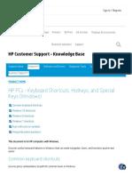 HP PCs - Keyboard Shortcuts, Hotkeys, and Special Keys (Windows) _ HP® Customer Support