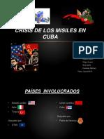 Disertacion de Historia Crisis de Los Misiles en Cuba