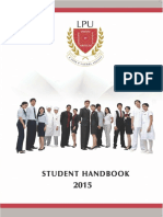 LPU Student Handbook