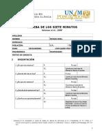 Prueba de Los Siete Minutos - PDF