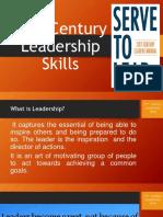 21st Century Leadership Skills