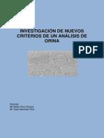 Investigacion de Nuevos Criterios de Análisis Orina
