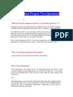 CS619 Final Project Viva Questions