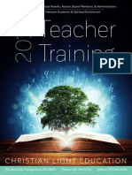 Teacher Training 2019 Brochure