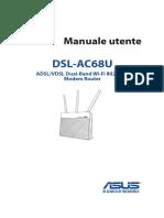 Asus Dsl Ac68u Manuale