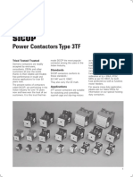 SICOP Power Contactor Type 3TF