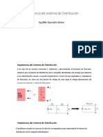 Impedancia Del Sistema de Distribución