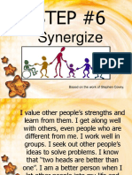 Step6 Synergize