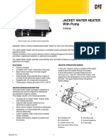 Jacket water heater