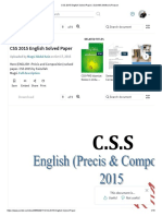 CSS 2015 English Solved Paper _ Scientific Method _ Reason