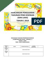 Rpt Pendidikan Kesenian Tahun 1 2019