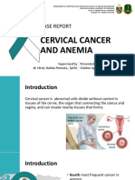 Case Report - Anemia Ec Cervical Cancer Stages 2b